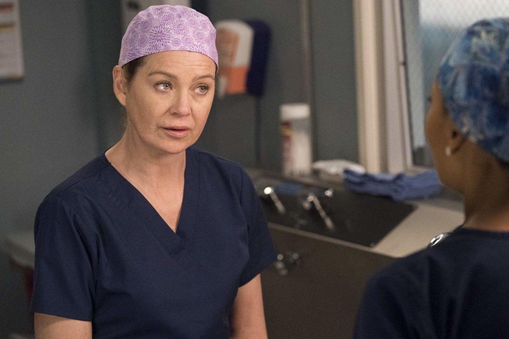 Meredith Grey na série Grey's Anatomy, disponível na Netflix