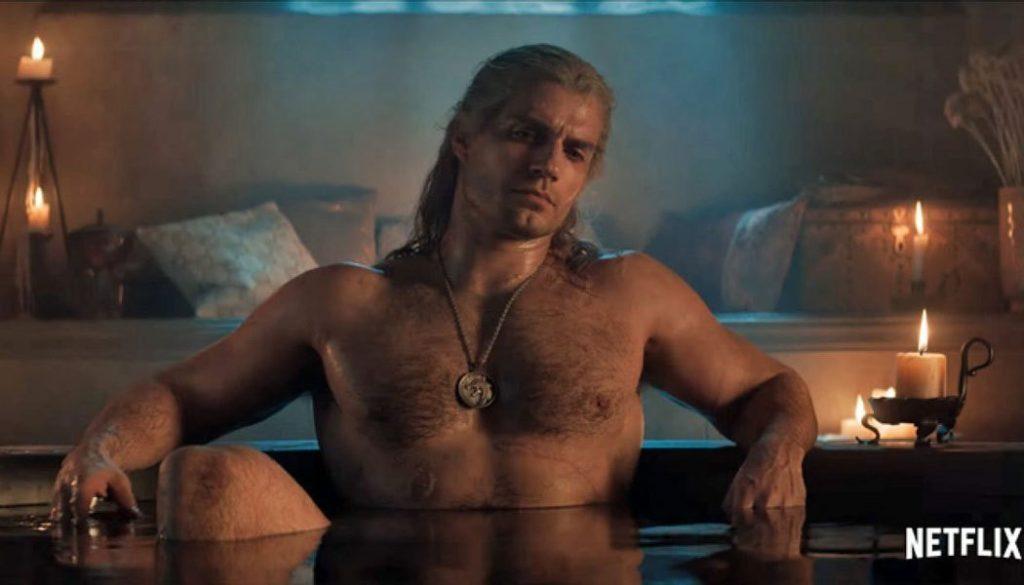 Henry Cavill aparecerá pelado em The Witcher