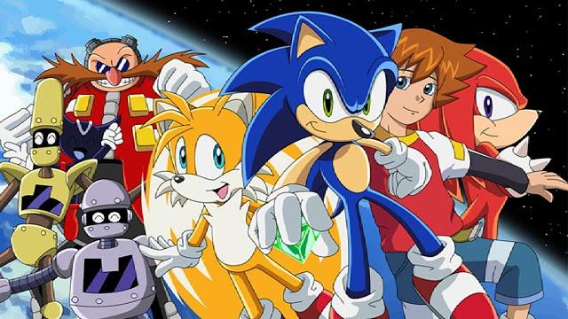 Série clássica de Sonic chegará na Netflix