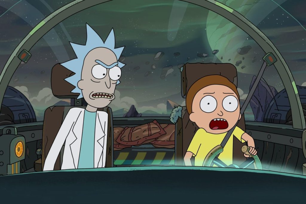 Rick and Morty 4° Temporada na Netflix