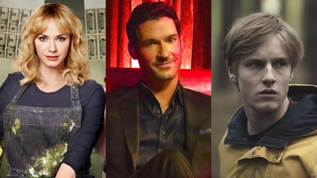 Séries na Netflix no 1° semestre de 2020